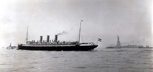 Passagierschiff Augusta Victoria vor New York. Foto: Hapag-Lloyd AG