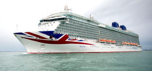 Britannia auf Kreuzfahrt. Foto: P&O Cruises