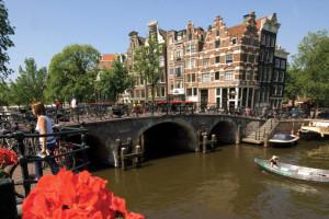 Brouwersgracht in Amsterdam. Foto: 1AVista Reisen