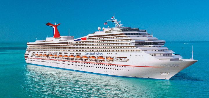Auf Kreuzfahrt mit Carnival Glory. Foto: Carnival Cruise Lines