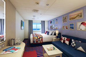 Family Harbor mit Meerblick auf Carnival Vista. Foto: Carnival Cruise Lines
