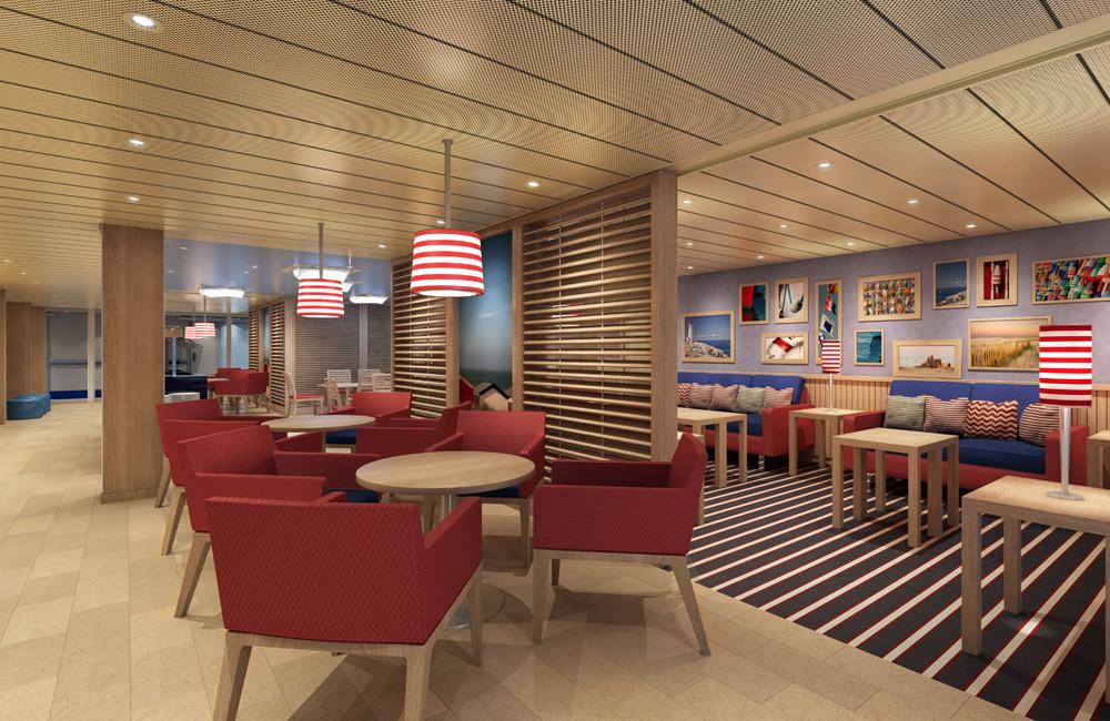 Family Lounge auf Carnival Vista. Foto: Carnival Cruise Lines