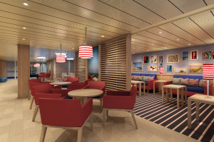 Family Lounge auf Carnival Vista. Foto: Carnival Cruise Lines