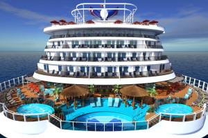 Havana Cabanas mit Terasse auf Carnival Vista. Foto: Carnival Cruise Lines