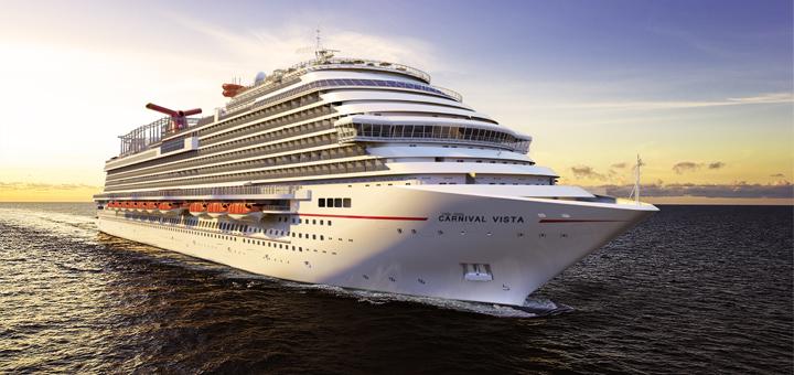 Jungfernfahrt mit Carnival Vista