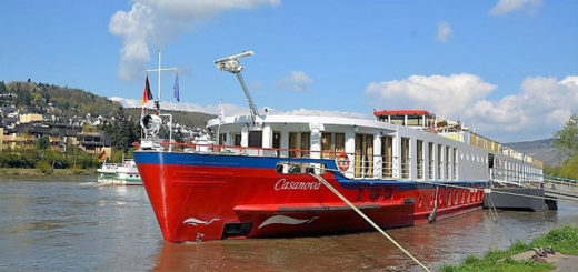 Flusskreuzfahrtschiff Casanova von nicko cruises. Foto: Udo Horn