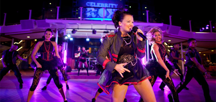 Shows bei Celebrity Cruises