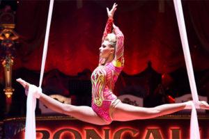 Circus Roncalli an Bord der EUROPA 2. Foto: Hapag-Lloyd Cruises