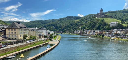 Mosel in Cochem