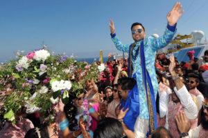 Bollywood-Hochzeit auf der Costa Fascinosa. Foto: Costa Kreuzfahrten
