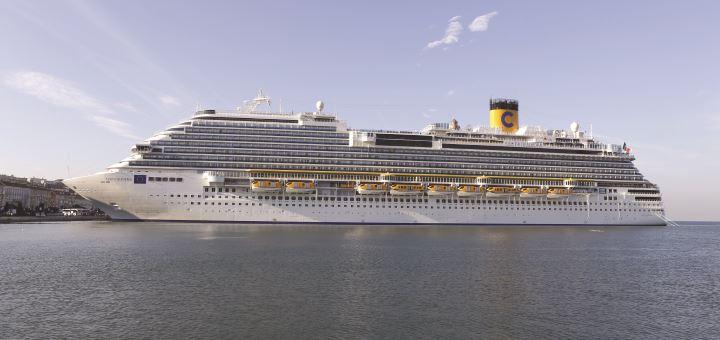 Mittelmeer mit Costa Kreuzfahrten