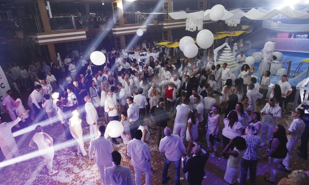White Night auf der Costa Diadema. Foto: Costa Kreuzfahrten