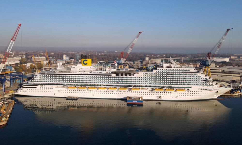 Costa Firenze auf der Fincatieri-Werft