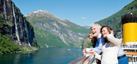 Costa Kreuzfahrten in Norwegischen Fjorden. Foto: Costa Kreuzfahrten