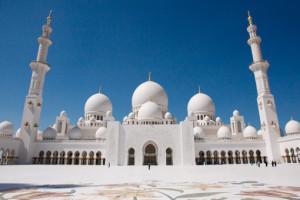 Scheich-Zayid-Moschee in Abu Dhabi. Foto: Costa Kreuzfahrten