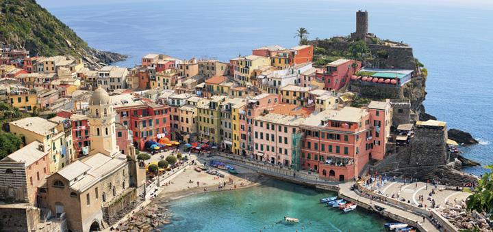 Cinque Terre mit Costa Kreuzfahrt entdecken. Foto: Costa Kreuzfahrten