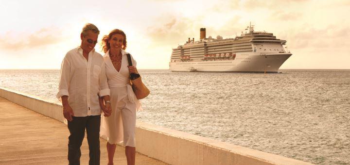 Mit Costa auf Kreuzfahrt. Foto: Costa Crociere