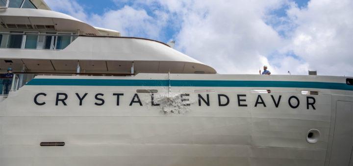 Crystal Endeavor Taufe in Stralsund