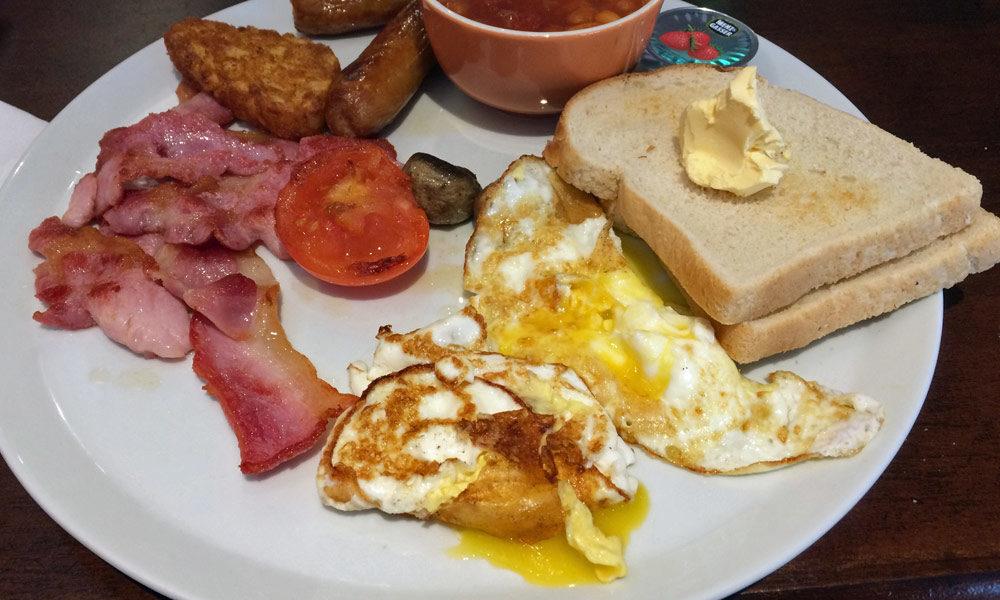English Breakfast in Newcastle