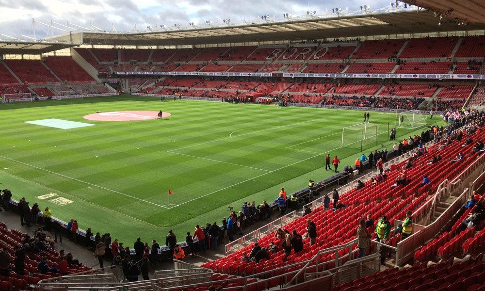 Riverside Stadium von Middlesbrough