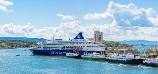 DFDS Seaways in Oslo. Foto: DFDS Seaways