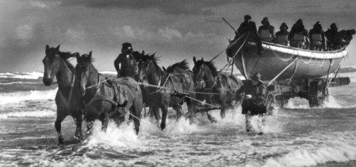 Einsatz der Seenotretter vor 150 Jahren. Foto: Die Seenotretter / DGzRS