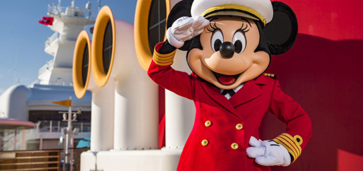 Captain Minnie Mouse von Disney Cruise Line