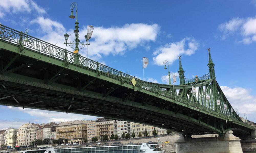 Brücke in Budapest