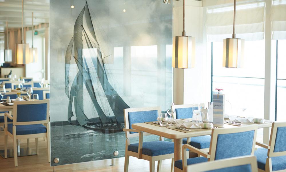 Yacht-Club auf EUROPA 2. Foto: Hapag-Lloyd Cruises