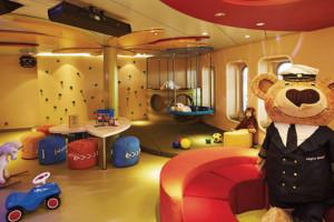 Kids-Club auf EUROPA 2. Foto: Hapag-Lloyd Cruises