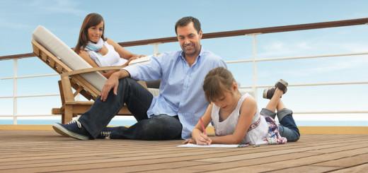 Familienkreuzfahrt mit TUI Cuises. Foto: TUI Cruises