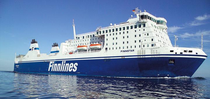 Mit Finnlines nach Finnland. Foto: Finnlines