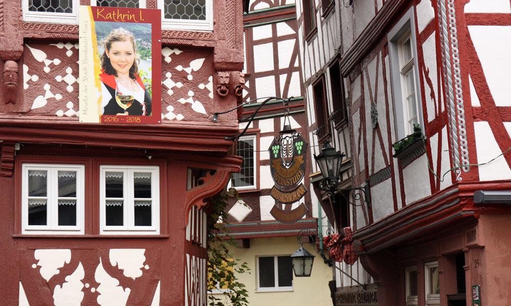 Fachwerk am Marktplatz in Bernkastel Kues