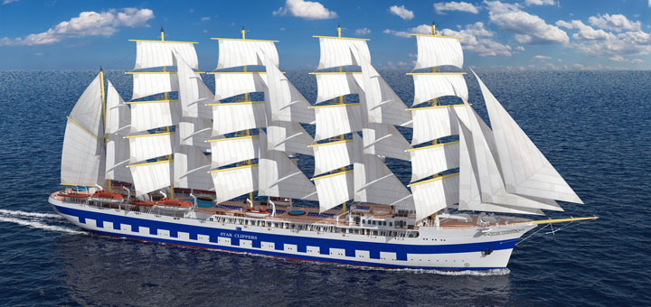 Flying Clipper von Star Clippers