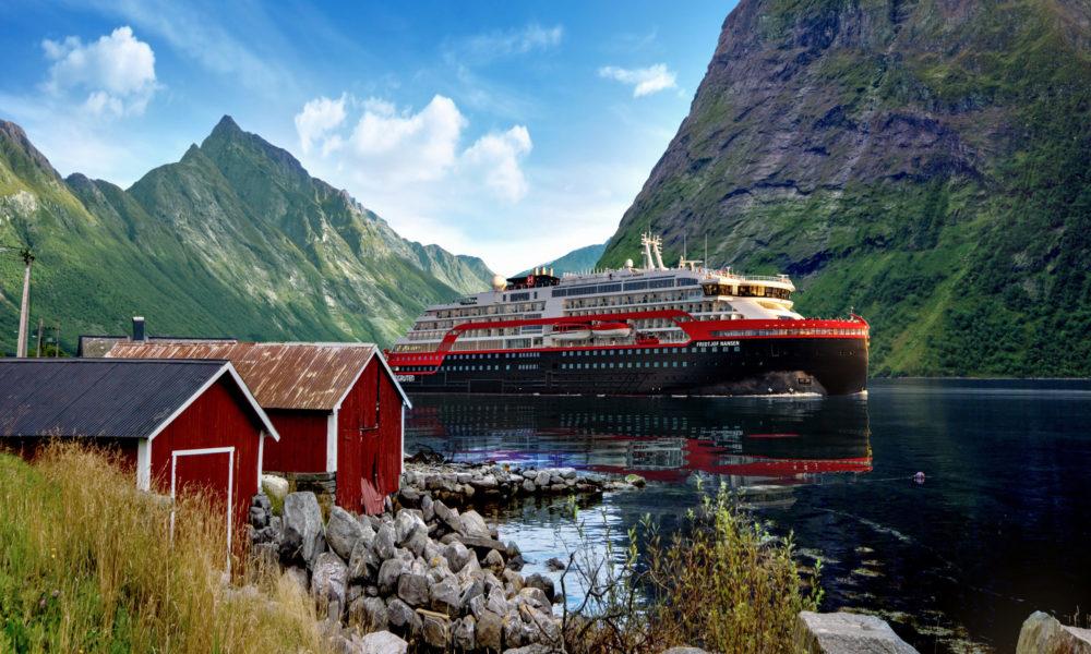Fridtjof Nansen von Hurtigruten