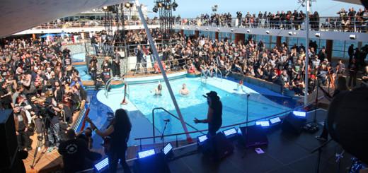 Konzert bei der Full Metal Cruise auf der Mein Schiff. Foto: TUI Cruises