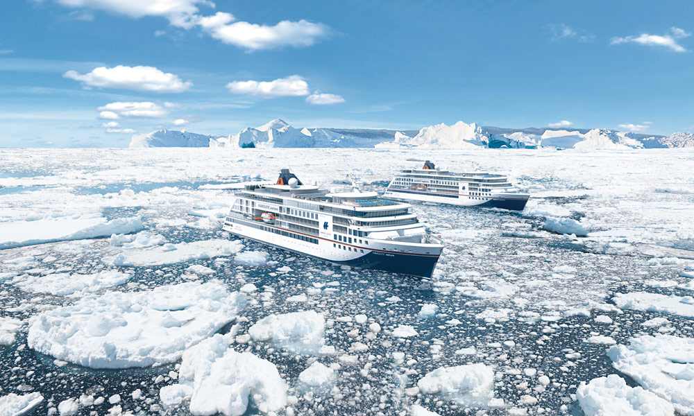 HANSEATIC nature und HANSEATIC inspiration. Foto: Hapag-Lloyd Cruises