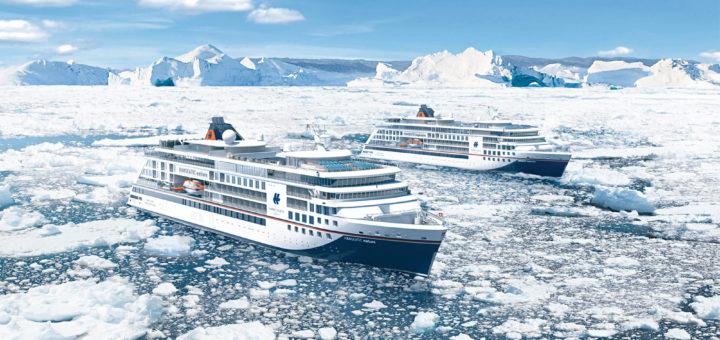 HANSEATIC-Expeditionschiffe von Hapag-Lloyd Cruises