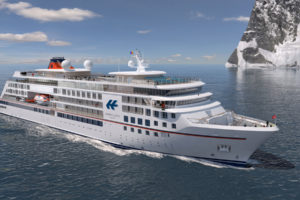 Hapag-Lloyd Cruises Expeditionsschiff-Neubau. Foto: Hapag-Lloyd Cruises