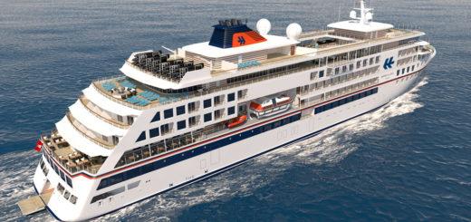 Hapag-Lloyd Cruises Expeditionsschiff-Neubau. Foto: Hapag-Lloyd Cruises