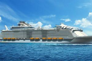 Harmony of the Seas auf Kreuzfahrt. Foto: Royal Caribbean International