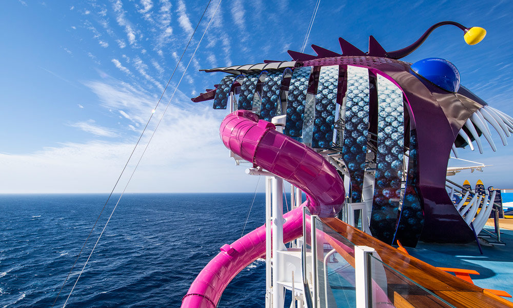 Ultimate Abyss auf der Harmony of the Seas. Foto: Royal Caribbean International