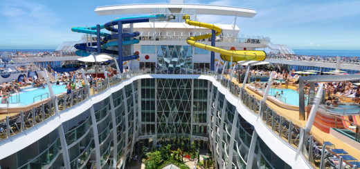 Wasserrutschen auf der Harmony of the Seas. Foto: Royal Caribbean International