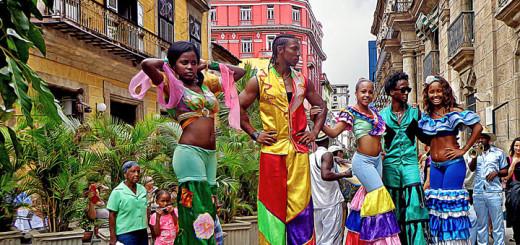 Menschen in Havanna