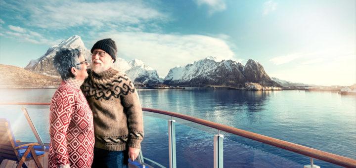 Klassische Postschiffroute Norwegen