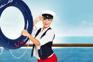 Mit Helene Fischer und Mein Schiff 2 auf Schlager Kreuzfahrt. Foto: TUI Cruises