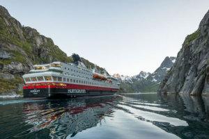 Hurtigruten auf Kreuzfahrt in Norwegen. Foto: Trym Ivar Bergsmo