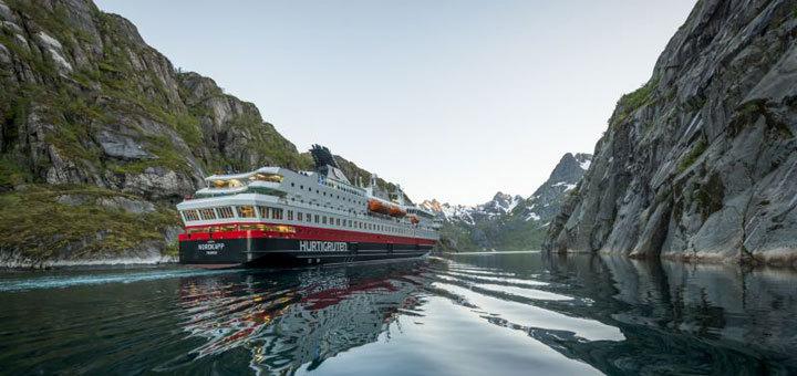Kreuzfahrt mit Hurtigruten