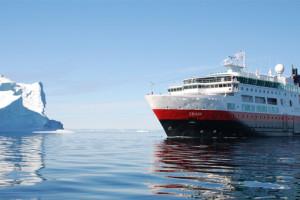 Hurtigruten auf Antarktis-Kreuzfahrt. Foto: Thomas Mauch