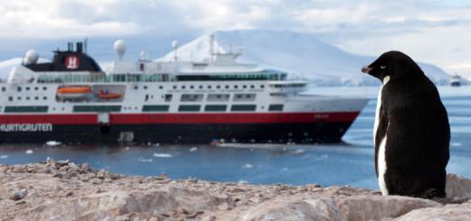 Antarktis mit Hurtigruten